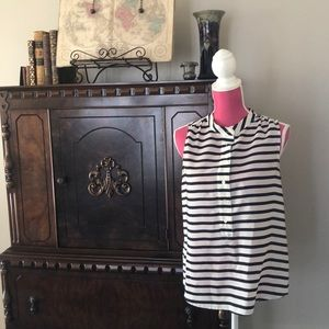 ⚓️J. CREW⚓️ nautical striped blouse